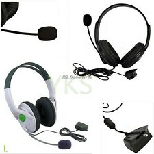 Live Big Headset Headphone With Microphone for XBOX 360 Xbox360 Slim NEW K2