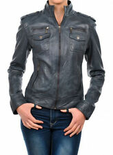 NEW Womens 100% Leather Lambskin Jacket Coat, Made to your Measurements - WJ111