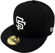 New Era MLB San Francisco Giants Black White 59fifty Fitted Cap Limited Edition