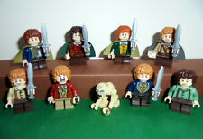 "Lego Selection lord of the rings/The Hobbit Mini figurines ""Hobbits"" with Gollum"