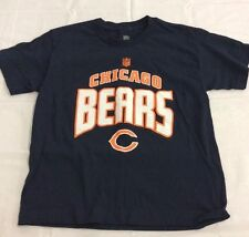 NFL Chicago Bears NFL  Arch Standard Navy Blue T-Shirt Youth Sizes Small & Med