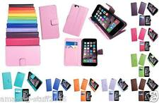 PU Leather Magnetic Flip Stand Wallet Cover Case For Apple 5 6 Various Colours