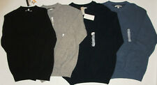 NWT Genuine GEOFFREY BEENE blue, black or gray sweater, size S, M or XL