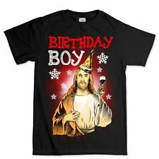 Christmas Xmas Tree Jesus Birthday Present New Gift Stocking Filler T shirt Tee
