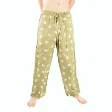 Life is Good Artichoke Green Golf Ball Icon Tee Pajama Lounge Pants Sleep PJ NWT