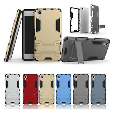Slim Hybrid Impact Rugged Rubber Shockproof Armor Case for Sony Xperia X / XA