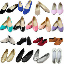 Womens Dolly Ballerina Ballet Shoes Casual Flats Loafers Single Boat Pumps Shoes