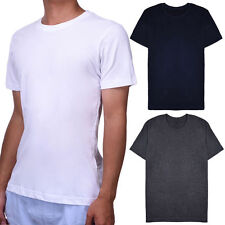 Men's Crew Neck Short Sleeve T-Shirt Slim Fit Casual Solid Color Basic Tee Shirt