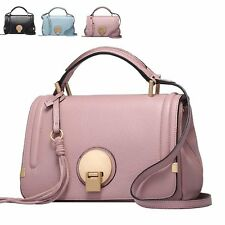 Fashion Tassel Deco Leather Women Handbags Medium Shoulder Crossbody Bag Satchel