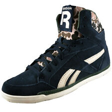 Reebok Classic Womens Girls Rhythmcity Mid Trainers Navy AUTHENTIC
