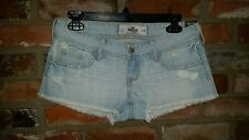 WOMENS HOLLISTER Destroyed Shorts by Abercrombie NWT size 1 BACK TO SCHOOL SALE