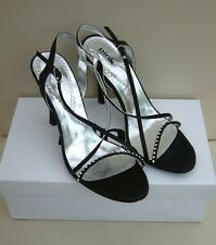 STYLISH NEW BLACK EVENING SHOE SIZE 40 (uk7) by PINK