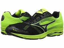 MIZUNO WAVE SAYONARA 3 BLACK YELLOW MENS RUNNING SHOES **FREE POST AUSTRALIA