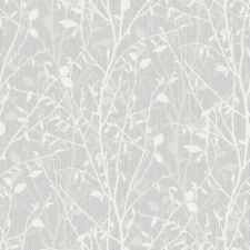Bosco Silver Woodland Wallpaper by Arthouse 291503