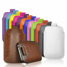 PULL TAB PU LEATHER COVER CASE *only* fits Samsung Galaxy Ace S5830 + Stylus