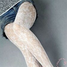 1 Pair Lady Sexy Black Lace Fishnet Stockings Lingerie Racy Small Mesh Socks
