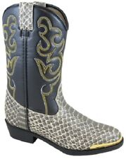 NEW! Smoky Mountain Boots - TODDLER - Western Cowboy - Python Snake Print