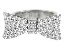 King Queen Baby Studio Baby Bow Pavé CZ Ring Q20-5895