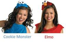 One Size TV Show Sesame Street Cookie Monster / Elmo Sparkle Accessory Headbands