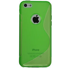 New Transparent Soft TPU Silicone Gel Cover Case Skin for iPhone 5c*USA SELLER*