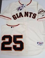 BARRY BONDS SAN FRANCISCO GIANTS AUTHENTIC IVORY JERSEY MAJESTIC PICK SIZE NEW