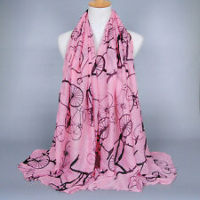 New Women's Fashion Long Scarves Soft Voile Wrap Shawl Chiffon Scarf Neck Stole