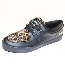Shoes, gothique, rock, emo DRAVEN SPECIAL Leopard