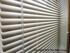"""1"""" Premium Aluminum Mini Blinds 26-28"""" Wide by 48-50"""" Long $29.81 FREE SHIPPING"""