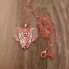 CHINESE CRESTED HUND INSPIRED PENDANT NECKLACE CRESTED DOG LOVER PORTRAIT ADORNI