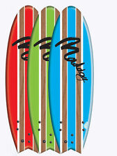 Maddog 5'8 Handshaped Flying Fish Soft Surfboard Softboard
