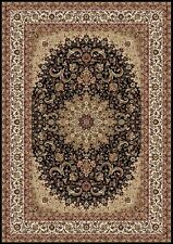 RUGS AREA RUGS CARPET NEW AREA RUG SALE DECOR TRADITIONAL MEDALLION BLACK RUGS