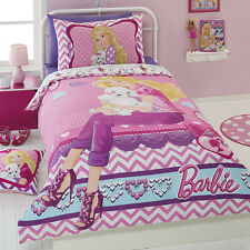 BARBIE Pretty Pawsome Puppy SINGLE or DOUBLE choice QUILT COVER SET BNIP Dog