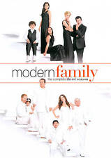 NEW Modern Family: The Complete Third Season (DVD, 2012, 3-Disc Set) Sealed