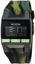 Nixon Inc. A4082314-00 Mens Comp Plastic and Silicone Automatic Watch