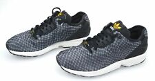 ADIDAS MAN SNEAKER SHOES MACULATED BLACK NYLON CODE ZX FLUX DECON B23724