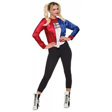 Harley Quinn Costume Adult Suicide Squad Cosplay Halloween Fancy Dress
