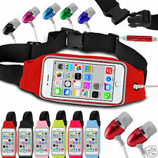 For Apple iPhone 3GS Running Fitness Sports Waistband Case & Handsfree