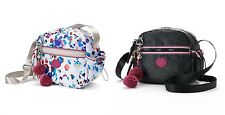 NWT Juicy Couture Mix Master Deluxe Heart Charm COATED CANVAS CrossBody BAG $59