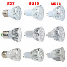 LED Spotlight Bulbs MR16 GU10 E27 9W 12W 15W Warm Cool White CREE Light Lamp