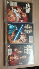 Star Wars Prequel trilogy THX DVD 6 disc set Revenge of the sith etc