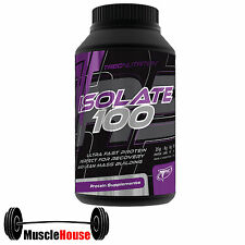 TREC Nutrition ISOLATE 100 BEST WHEY PROTEIN----BUILDING MUSCLE----  FREE P&P !!