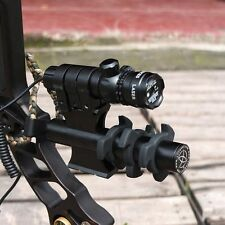 Tactical Adjusted Hunting Rifle Green / Red Laser Sight Dot Scope Archery Damper