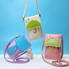 Fashion Leather Shoulder Strap Wallet Purse Pouch Bag Case Cover Coin Cell Phone