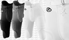 Rawlings Integrated Youth Boy's Practice/Game Football Pants With Pads F1500P
