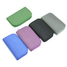 SD SDHC MMC CF Memory Card Storage Carrying Pouch Case Holder Wallet