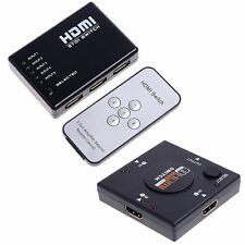 3/5 Port 1080P HDMI Switch Remote Video Switcher Splitter For PS3 HDTV DVD SC2