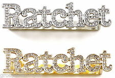 RATCHET Ring 2 - 3 Finger New Iced Out High Fashion Back Plate Design