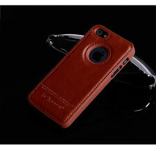 Luxury PU Leather Ultra Slim Protecrive Back Case Cover For Apple iPhone 5/5S