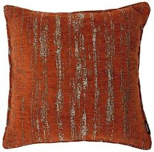 McAlister Textiles Textured Chenille | Burnt Orange Pillows & Cushion Covers