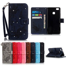 New 8 Colors Wallet PU Leather Case Cover Stand For Huawei Ascend P9 Lite Y625